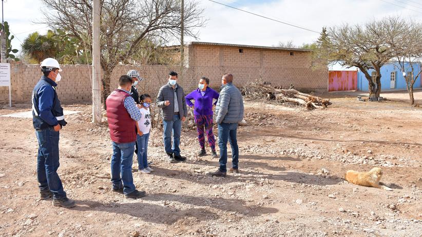 Lleva Ayuntamiento de Guadalupe servicio de drenaje a vecinos de la comunidad de La Luz