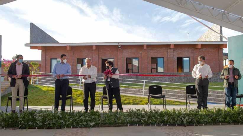 Universidades para el Bienestar generan más oportunidades para los jóvenes, destaca el presidente Andrés Manuel López Obrador al inaugurar el plantel de Pinos, Zacatecas