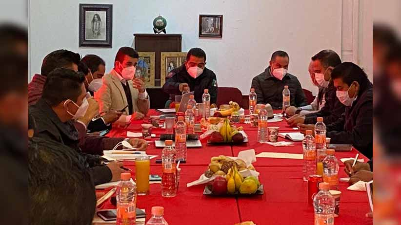 Titular de la SSP y 12 alcaldes refrendan estrategia coordinada; firmarán convenio de colaboración