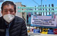 Equiparemos con boiler solar al 80% de los habitantes de Mazapil: Gregorio Macías Zúñiga (Video)