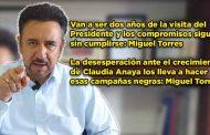 Van a ser dos años de la visita del Presidente y los compromisos siguen sin cumplirse: Miguel Torres (video)