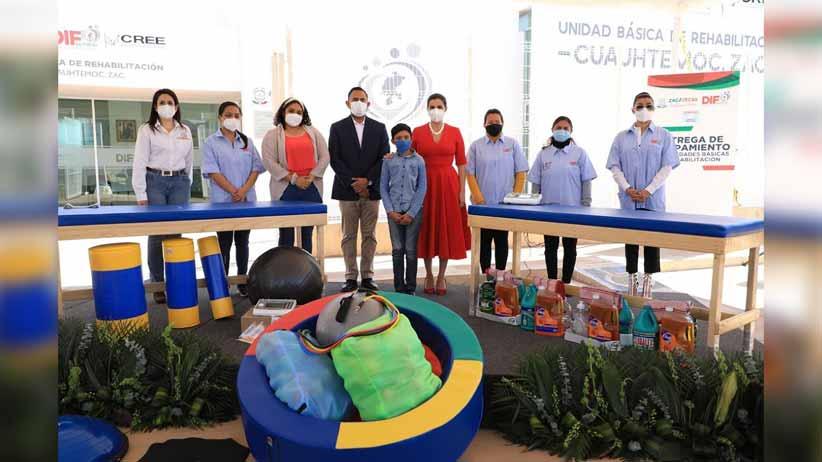 Fortalece SEDIF Unidades de Rehabilitación en Cuauhtémoc, Pánfilo Natera, Genaro Codina y Ojocaliente