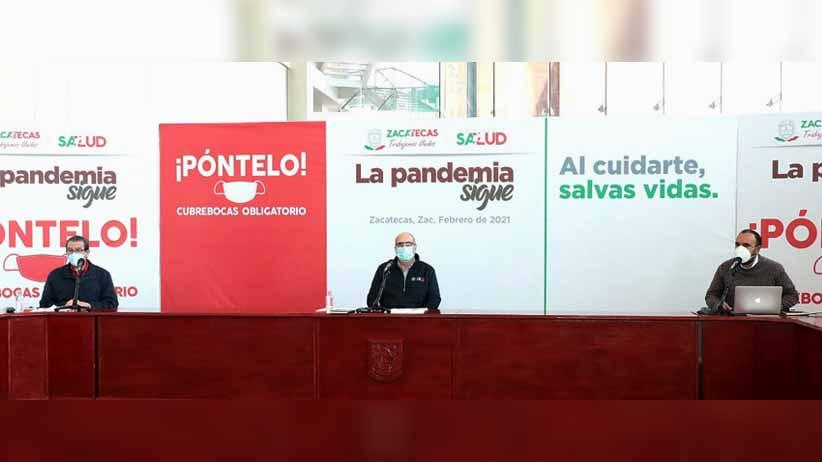 Los 10 municipios con el más alto número de defunciones por Covid-19 en Zacatecas