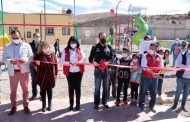 Entrega Gobierno Estatal a sombreretenses Parque El Coronel