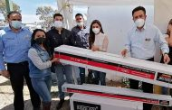 Entrega Miguel Torres 200 boiler solares en Villanueva
