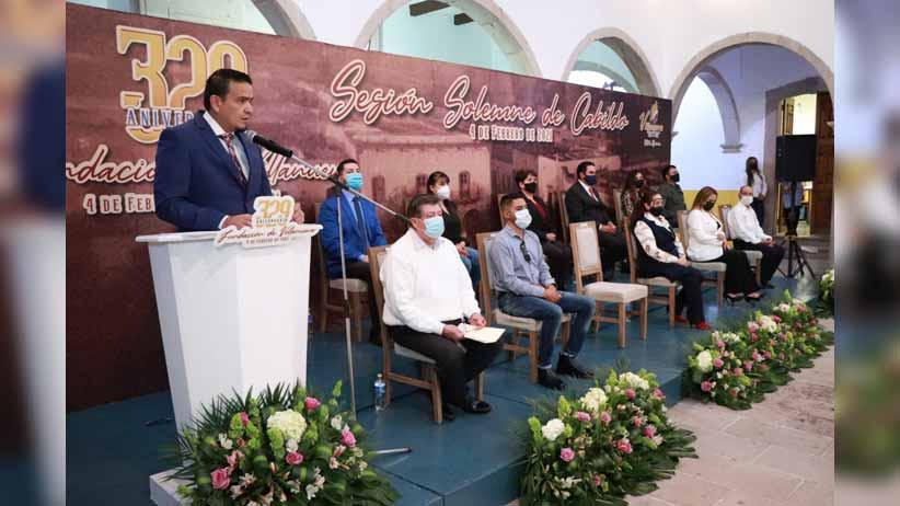 Festejan los 329 años de la fundación de Villanueva