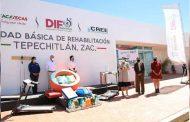 Continúa SEDIF con equipamiento a UBR's; entregó apoyos en Teúl de González Ortega, Tepechitlán y Momax