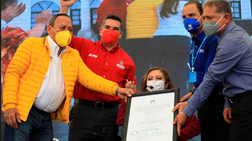 "Rinde Protesta Claudia Anaya como candidata a Gobernadora de la coalición ""Va por Zacatecas"""