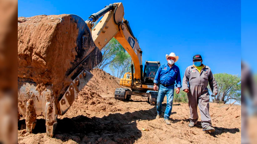 Cumple Tello con el rescate del Río Aguanaval