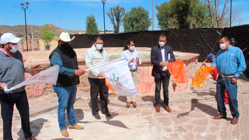 Gobierno Estatal y municipio restauran casco de la ex Hacienda de Trancoso