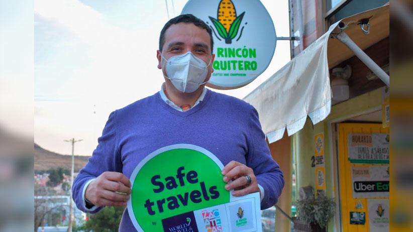 Negocios guadalupenses reciben distintivoSafe Travel