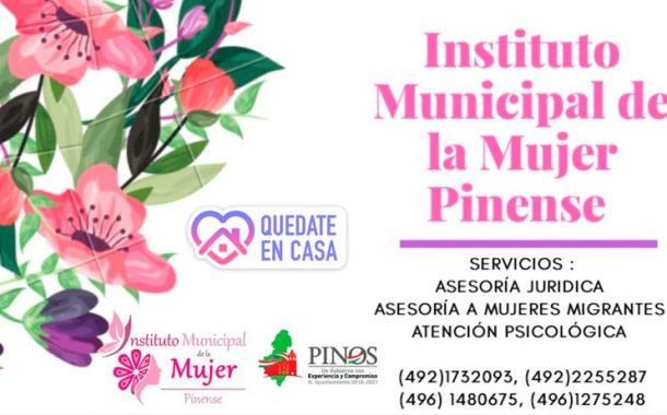 El Dia internacional de la Mujer es una oportunidad perfecta para celebrar la feminidad, la igualdad laboral y la diversidad: Inmmupi Pinos