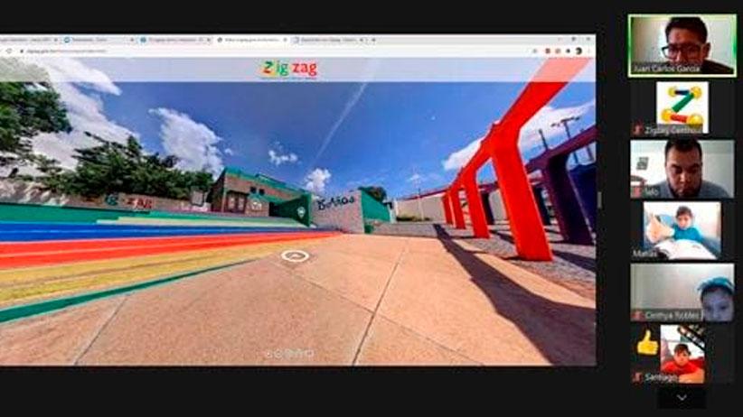 Recorridos virtuales 360° del Zigzag llegan a clases en línea en apoyo de la enseñanza científica