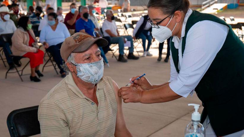 Da alegría poder vacunarse: Don Felipe, de Río Grande