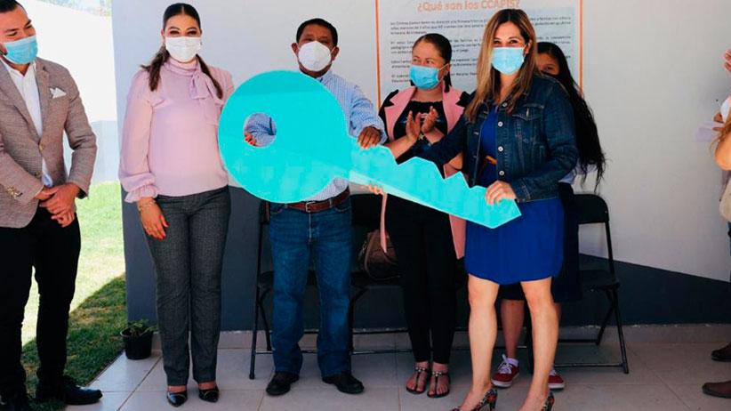 Entrega Secretaría de Educación Centro Comunitario de Atención a la Primera Infancia en Pánuco