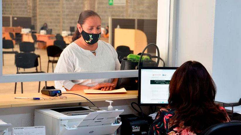 Hay nuevo módulo de servicios de la Secretaría de Finanzas, en Guadalupe