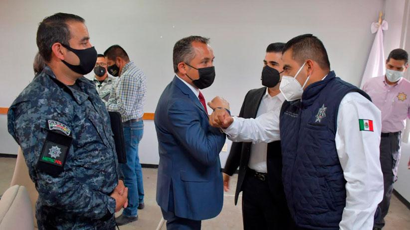 Firma municipio de Guadalupe convenio con la SSP