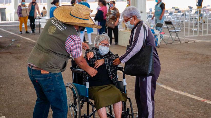 Apoyan Servidores de la Nación en acciones de vacunación contra el Covid-19 en Fresnillo