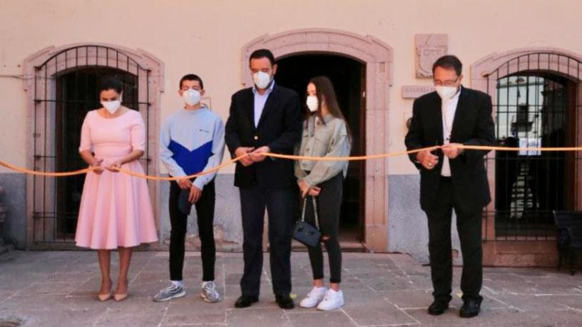 Inaugura Gobernador Tello reapertura de Galería Espiscopal; enriquecerá la oferta cultural de Zacatecas