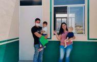 Gobierno de Tello combate hacinamiento con la entrega de viviendas a familias de Tepechitlán