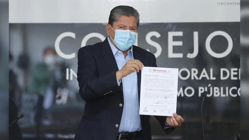 """""""Vamos juntos por la Transformación de Zacatecas"""": David Monreal Ávila se registra como candidato a la Gubernatura del estado"""