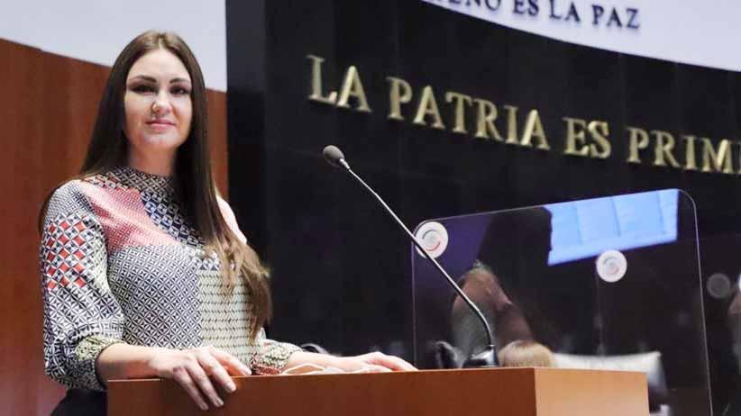 Propone Geovanna Bañuelos crear figura de diputación migrante