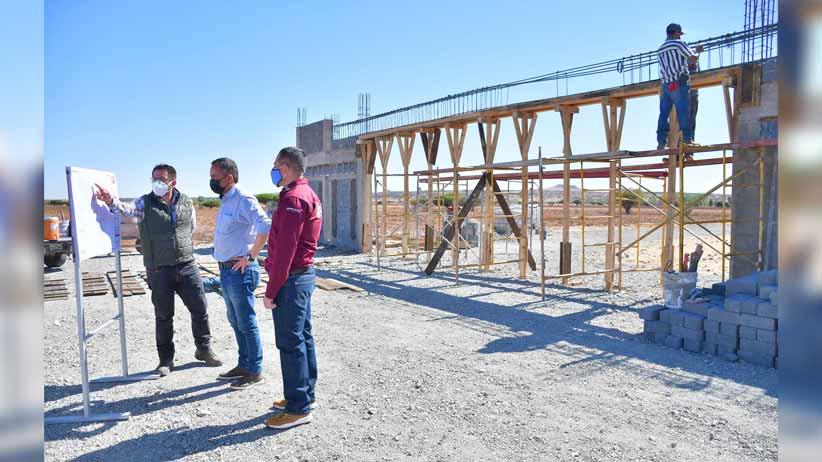 Continúan trabajos en el nuevo panteón municipal de Guadalupe