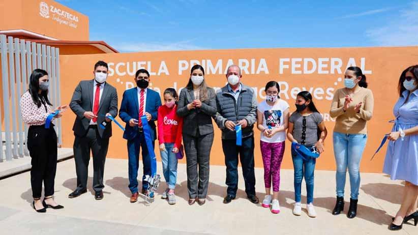 Fortalece Gobierno de Tello la educación en Zacatecas, Calera y Morelos