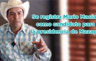 Se registra Mario Macías como candidato para la presidencia de Mazapil