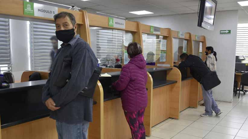 Permanecerán de guardia en semana santa las 64 oficinas recaudadoras de la Sefin