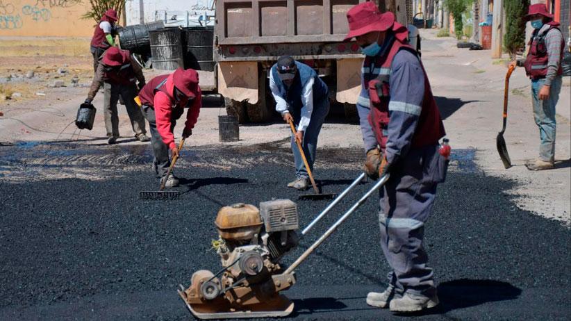 Intervienen calle de Villas de Guadalupe