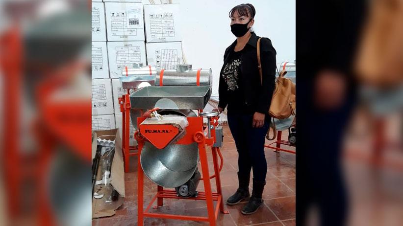 """""""Entrega de 33 molinos de nixtamal""""  en Mazapil"""