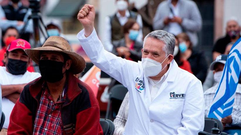 Arranca campaña Heladio Verver, busca curar a Zacatecas