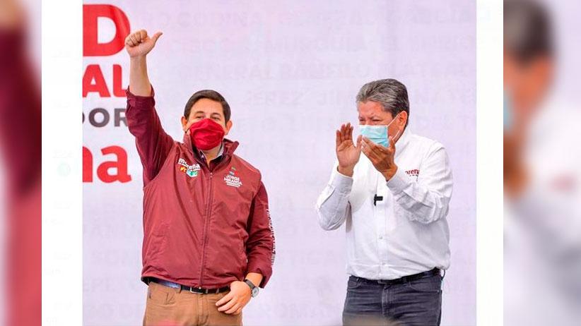 Trabajaré de la mano con David Monreal Ávila, próximo gobernador de Zacatecas