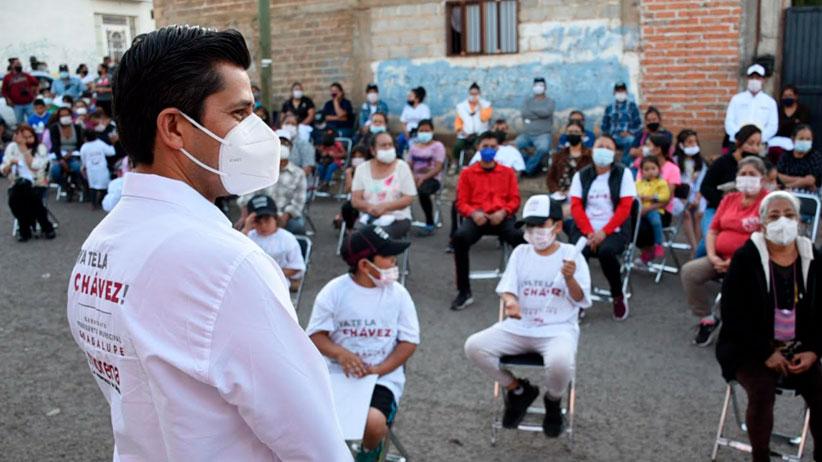 Queremos consolidar la transformación de Guadalupe: Julio César Chávez