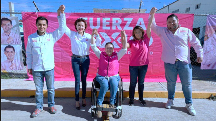 Apuesta fuerza por México con propuestas para un mejor Zacatecas.