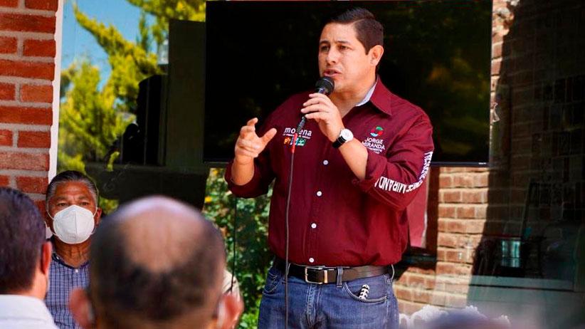 La campaña de Jorge Miranda será de propuestas y no de confrontaciones.