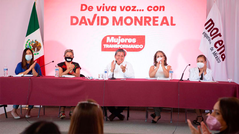 Adopta David Monreal Decálogo impulsado por mujeres para avanzar en la equidad de género