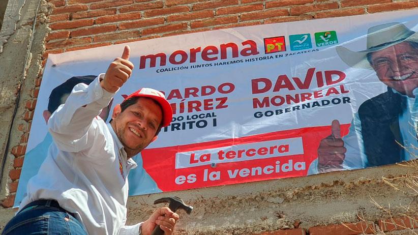 Xerardo Ramírez sigue llevando la esperanza de lograr el Zacatecas Bonito que todos queremos