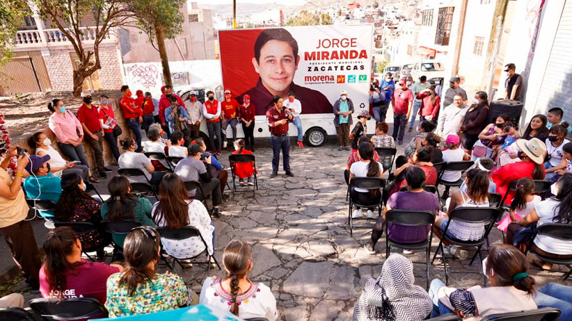Hoy es el momento de servirle a Zacatecas: Jorge Miranda
