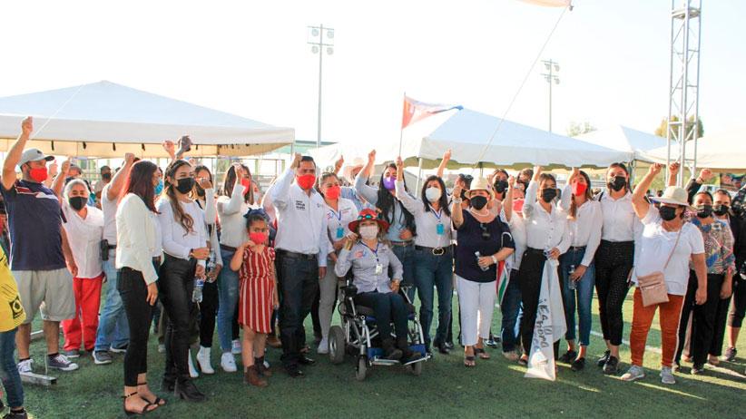 Ofrece Claudia Anaya estímulos al campo en Villa Hidalgo