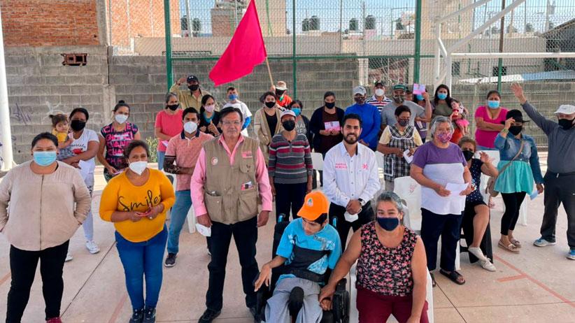 Insiste Mauro Ruíz en brindar mayor seguridad a Guadalupe