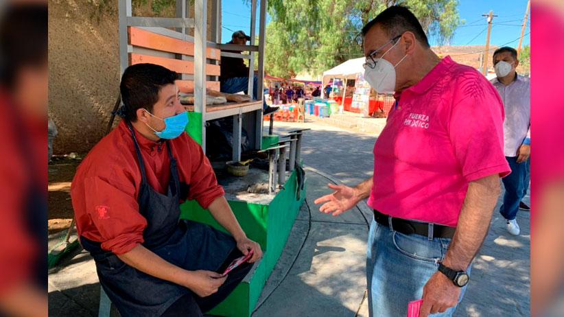 Recorre Mauro Ruíz el centro de Guadalupe