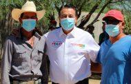 Reitera Femat en Mazapil su compromiso con las comunidades mineras
