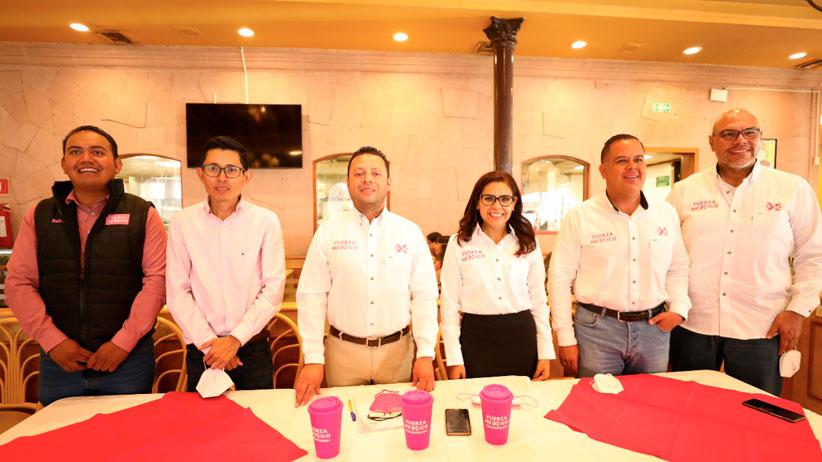 Se suma Javier Cabral Hernández al partido Fuerza por México para reforzar la estrategia en el distrito 2 federal, el más grande del país.