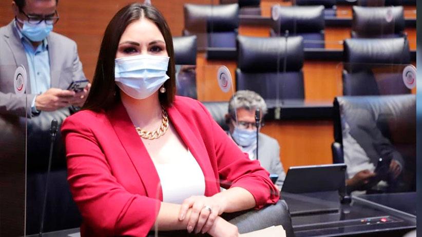 Propone Geovanna Bañuelos sancionar a quien se salte la fila de vacunación