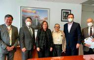 Alejandro Tello y Rocío Nahle analizan proyectos en materia energética para Zacatecas