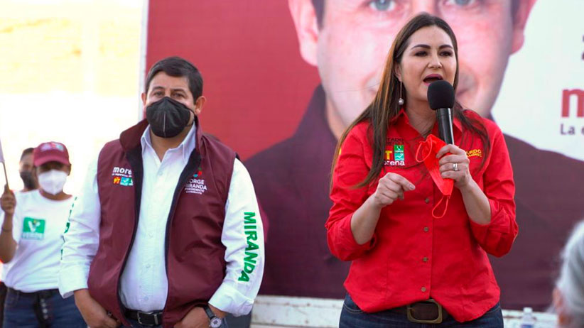 Geovanna Bañuelos respalda proyecto de Jorge Miranda rumbo a la alcaldía