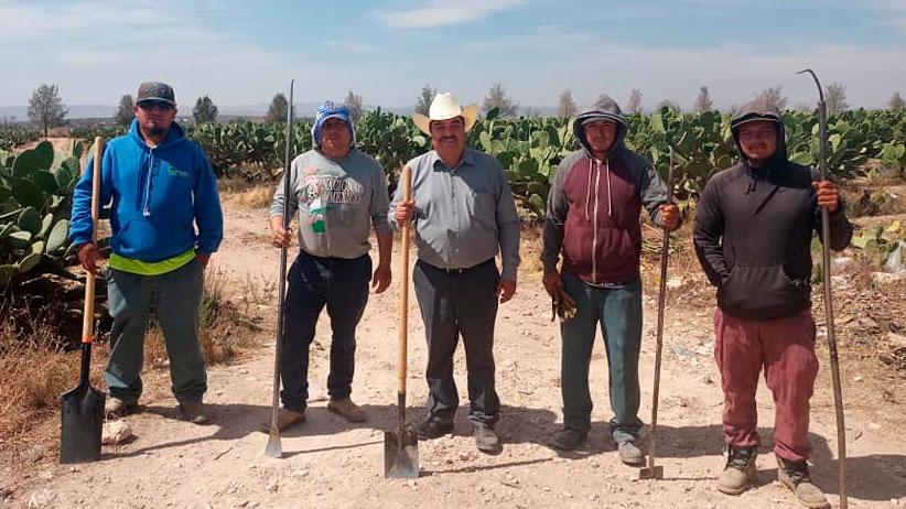 """""""Es fundamental apoyar el campo ya que es una de las fuentes principales de alimento de la mayoría de los Pinense"""" Jesús Álvarez"""
