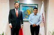 Presenta Alejandro Tello planteamientos a Secretaría del Bienestar para combate a la pobreza